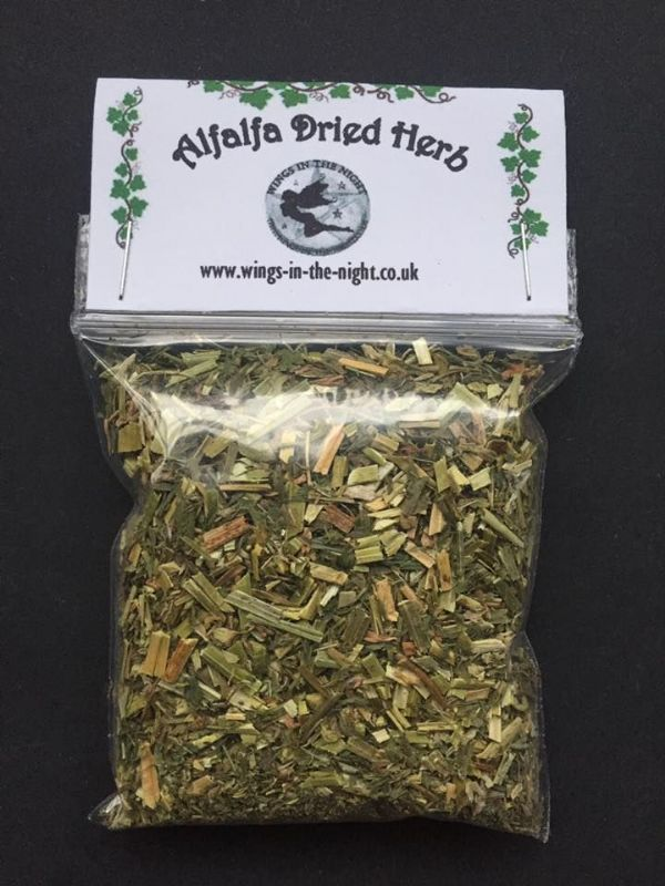 ALFALFA (Medicago Saliva) Dried Herb